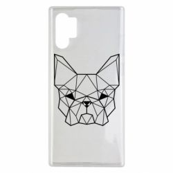 Чехол для Samsung Note 10 Plus French Bulldog Art