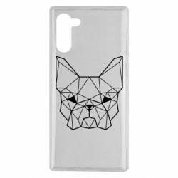 Чехол для Samsung Note 10 French Bulldog Art