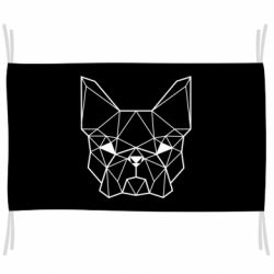 Флаг French Bulldog Art
