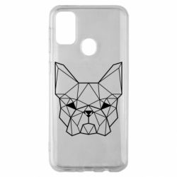 Чехол для Samsung M30s French Bulldog Art