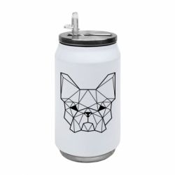 Термобанка 350ml French Bulldog Art