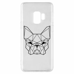 Чехол для Samsung S9 French Bulldog Art