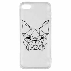 Чехол для iPhone5/5S/SE French Bulldog Art