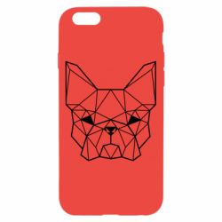 Чехол для iPhone 6/6S French Bulldog Art