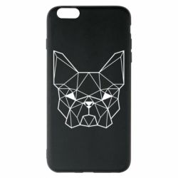 Чехол для iPhone 6 Plus/6S Plus French Bulldog Art