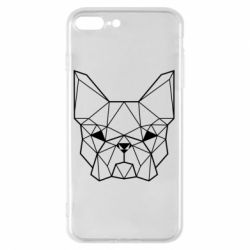 Чехол для iPhone 7 Plus French Bulldog Art