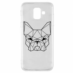 Чехол для Samsung A6 2018 French Bulldog Art