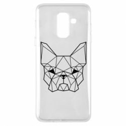 Чехол для Samsung A6+ 2018 French Bulldog Art
