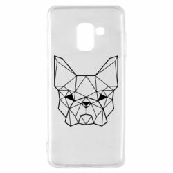 Чехол для Samsung A8 2018 French Bulldog Art