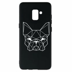 Чехол для Samsung A8+ 2018 French Bulldog Art