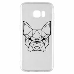 Чехол для Samsung S7 EDGE French Bulldog Art