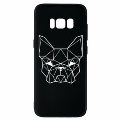 Чехол для Samsung S8 French Bulldog Art