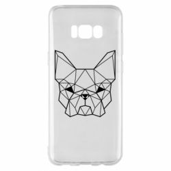 Чехол для Samsung S8+ French Bulldog Art