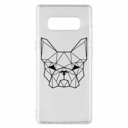 Чехол для Samsung Note 8 French Bulldog Art