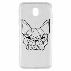 Чехол для Samsung J7 2017 French Bulldog Art