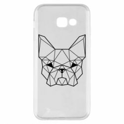 Чехол для Samsung A5 2017 French Bulldog Art
