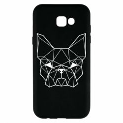 Чехол для Samsung A7 2017 French Bulldog Art