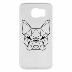 Чехол для Samsung S6 French Bulldog Art