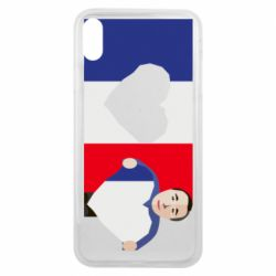 Чехол для iPhone Xs Max French flag and president