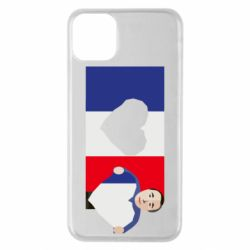 Чехол для iPhone 11 Pro Max French flag and president