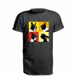 Удлиненная футболка Френчи - FatLine