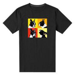 Мужская стрейчевая футболка Френчи - FatLine