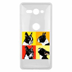 Чехол для Sony Xperia XZ2 Compact Френчи - FatLine