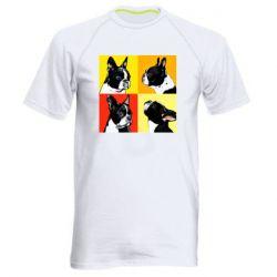 Мужская спортивная футболка Френчи - FatLine