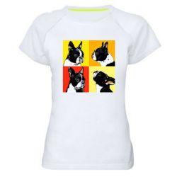 Женская спортивная футболка Френчи - FatLine