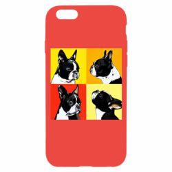 Чехол для iPhone 6/6S Френчи - FatLine