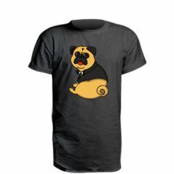 Удлиненная футболка Frenk art