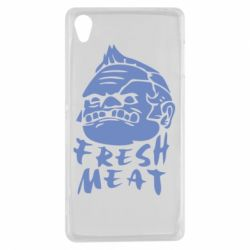 Чехол для Sony Xperia Z3 Fresh Meat Pudge - FatLine
