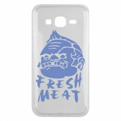 Чехол для Samsung J5 2015 Fresh Meat Pudge - FatLine