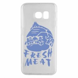 Чехол для Samsung S6 EDGE Fresh Meat Pudge - FatLine