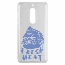 Чехол для Nokia 5 Fresh Meat Pudge - FatLine