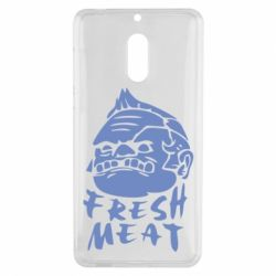 Чехол для Nokia 6 Fresh Meat Pudge - FatLine