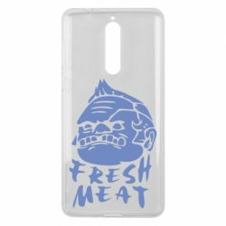 Чехол для Nokia 8 Fresh Meat Pudge - FatLine