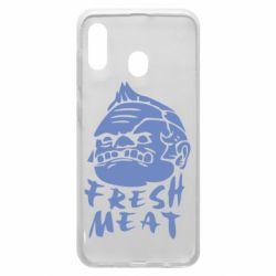 Чехол для Samsung A30 Fresh Meat Pudge