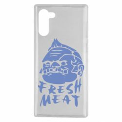 Чехол для Samsung Note 10 Fresh Meat Pudge