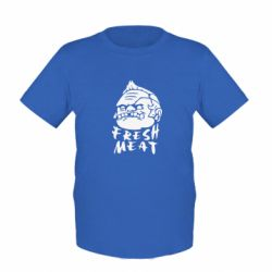 Детская футболка Fresh Meat Pudge - FatLine