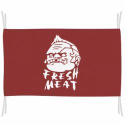 Флаг Fresh Meat Pudge