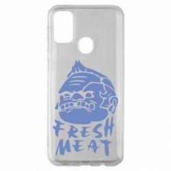 Чехол для Samsung M30s Fresh Meat Pudge