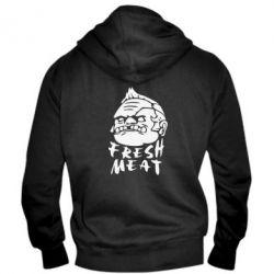 Мужская толстовка на молнии Fresh Meat Pudge - FatLine