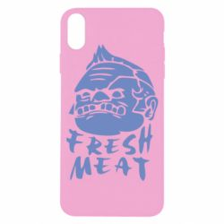 Чехол для iPhone X Fresh Meat Pudge - FatLine