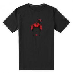 Мужская стрейчевая футболка Frida Kalo and cat