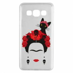 Чохол для Samsung A3 2015 Frida Kalo and cat