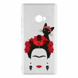 Чехол для Xiaomi Mi Note 2 Frida Kalo and cat