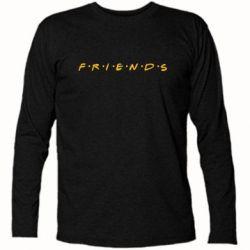 Футболка с длинным рукавом Friends (Друзья) - FatLine