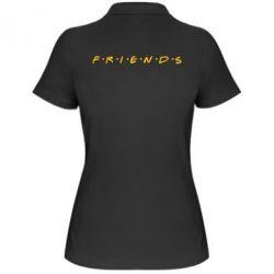 Женская футболка поло Friends (Друзья) - FatLine
