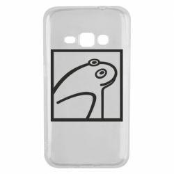 Чохол для Samsung J1 2016 Frog squared